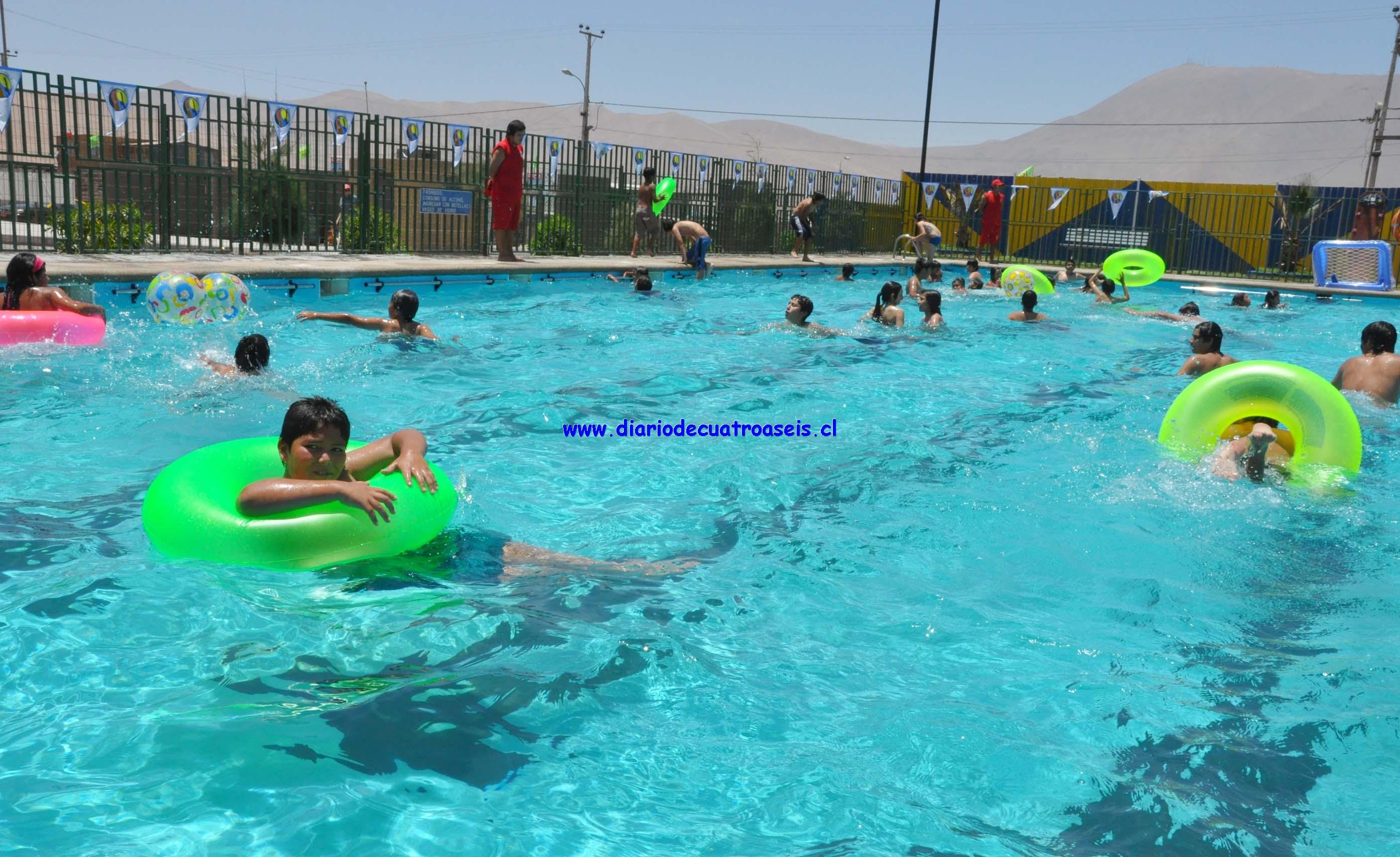 Inauguran temporada de piscinas y camping municipal en - Piscinas en alto ...