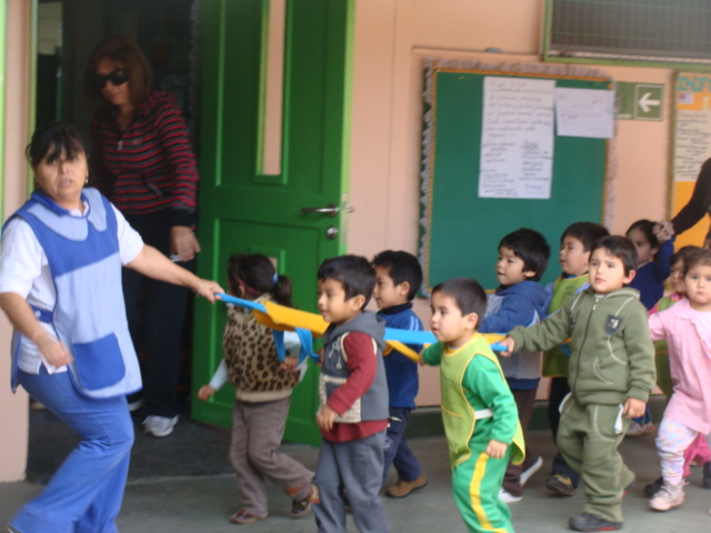 Jard n ike ike de junji pr ctico evacuaci n ante for Jardines pequenos para escuelas